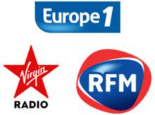 Logos europe1-virginradio-rfm 3